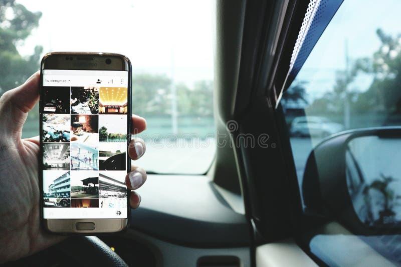 Samsung S7 krawędź zdjęcia royalty free