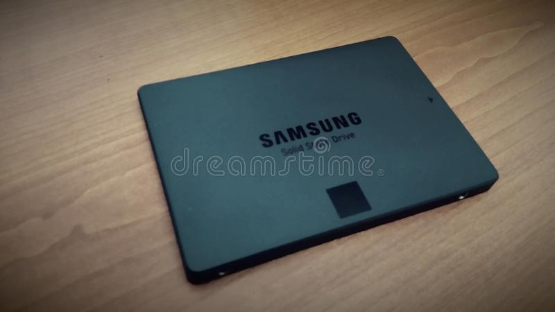 Samsung SSD stock image
