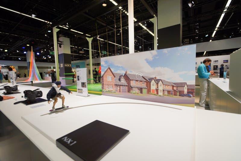 Samsung stand in the Photokina Exhibition stock photos