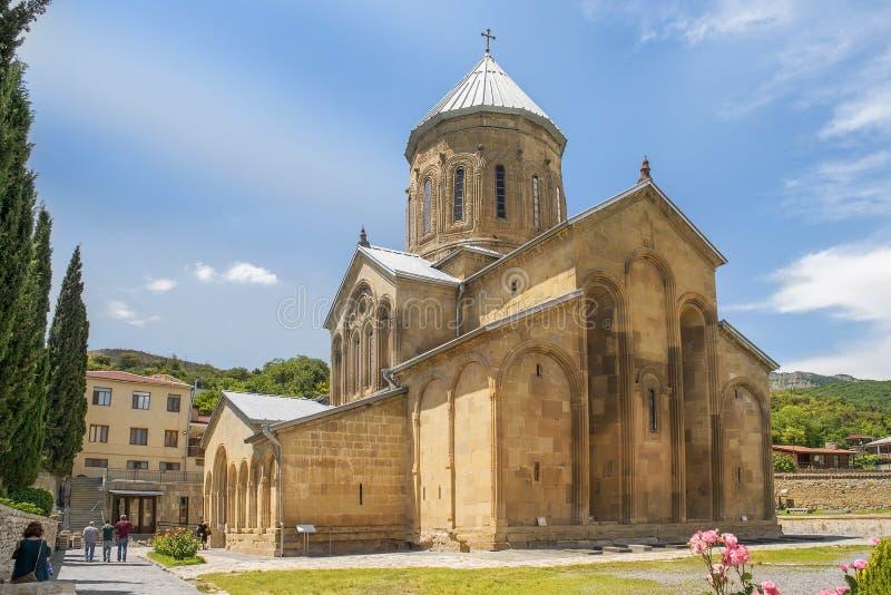 Samtavro transfiguration orthodox church in Mtskheta, Georgia stock images