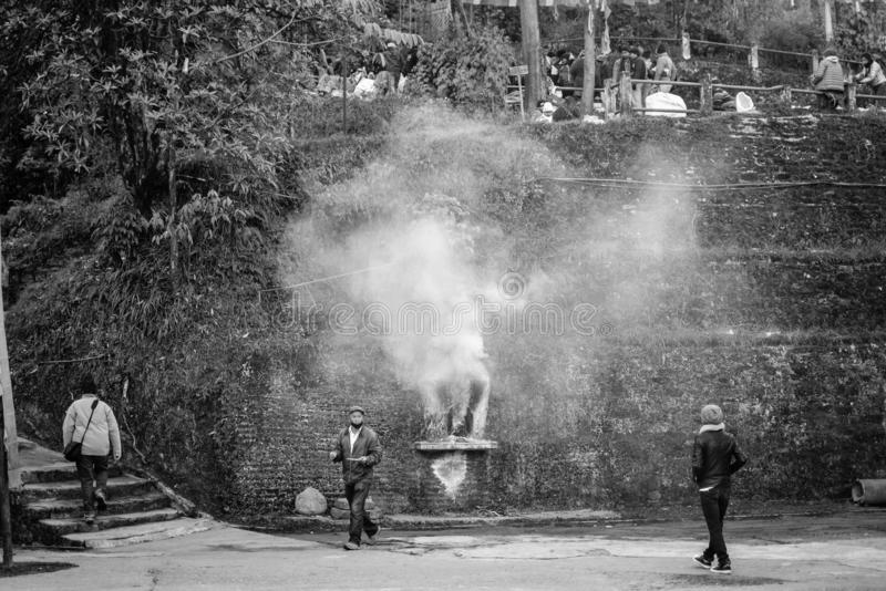 Samten Choling monaster Darjeeling Ghum obraz royalty free