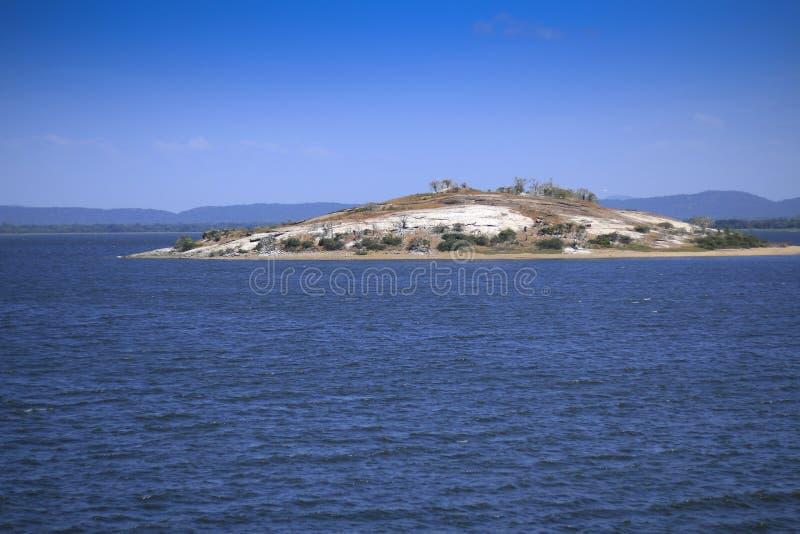 Samudraya de Parakrama em Polonnaruwa, Sri Lanka fotos de stock