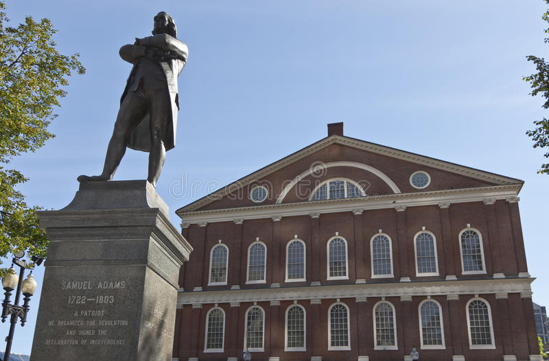 Samuel Adams image stock
