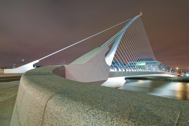 Samuel Beckett Bridge royalty free stock photo