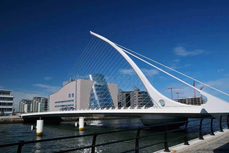 Samuel Beckett Bridge stock fotografie