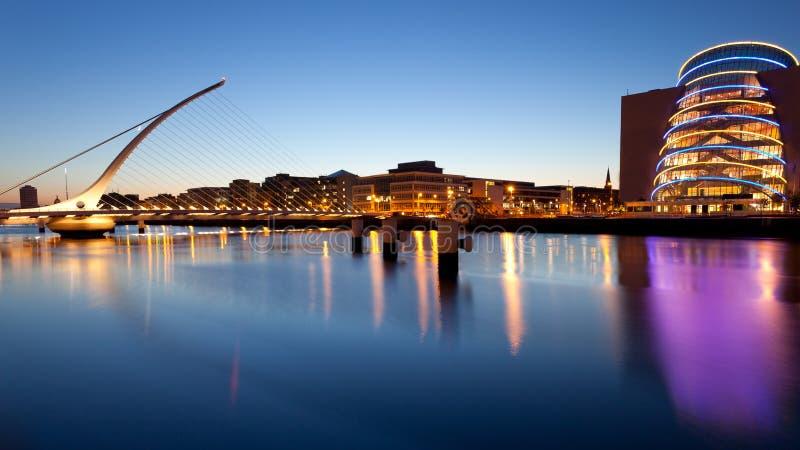 Samuel Beckett most Dublin obrazy stock