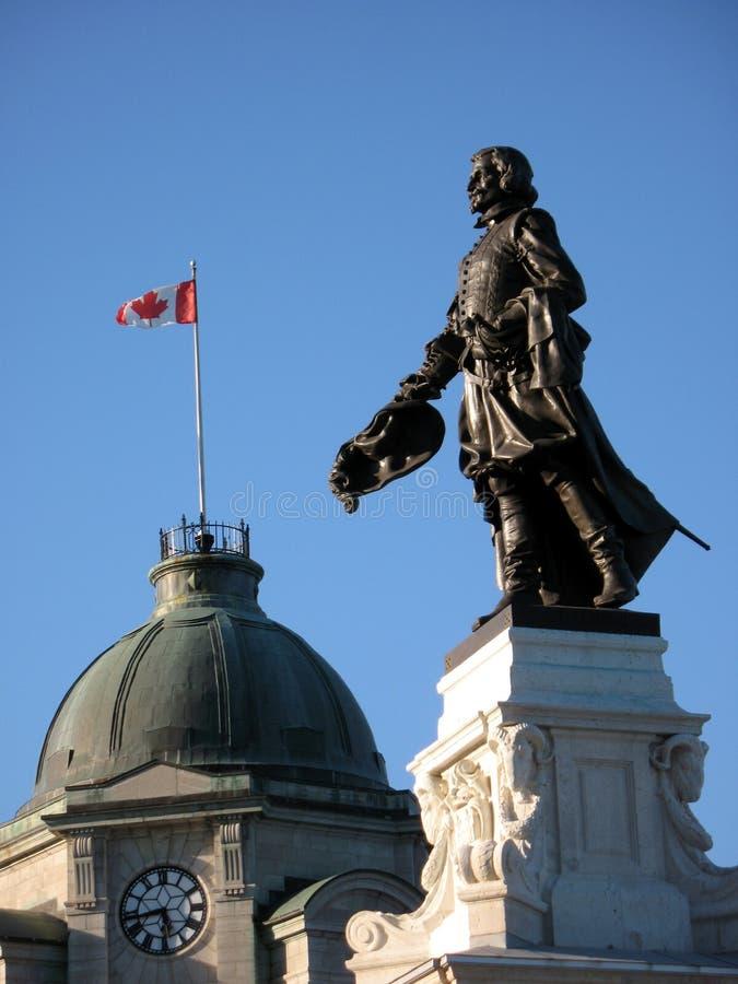 Samuel-de-Champlain fotos de archivo