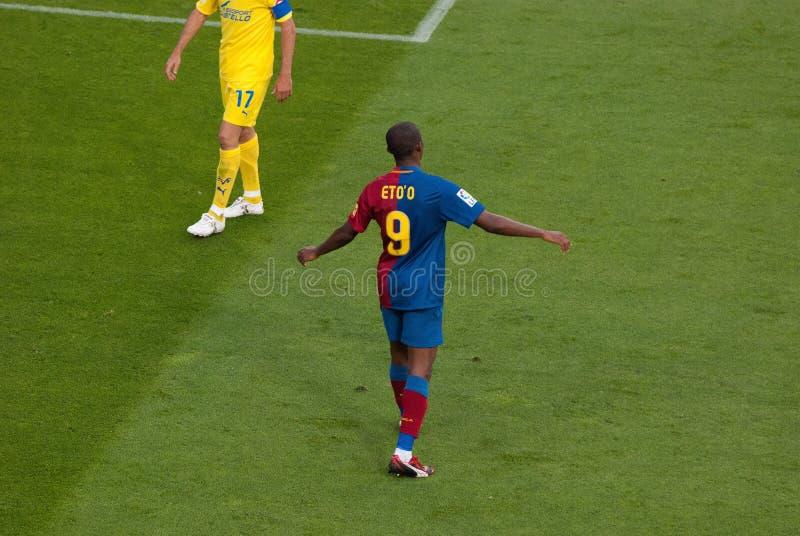 Samuel Eto'o lizenzfreies stockfoto
