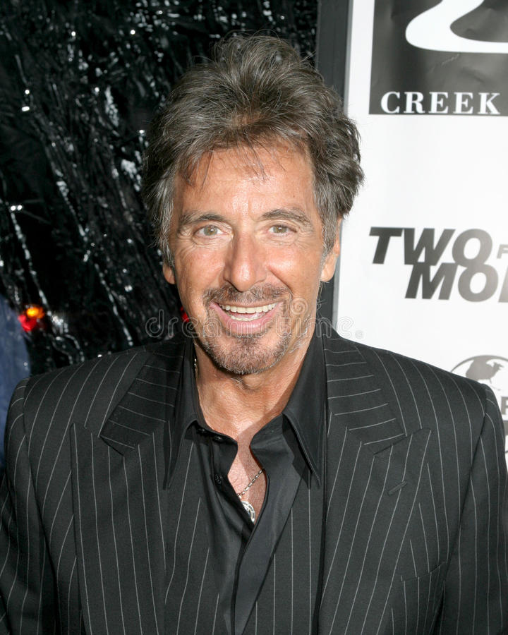 Samuel Goldwyn, Al Pacino obraz royalty free