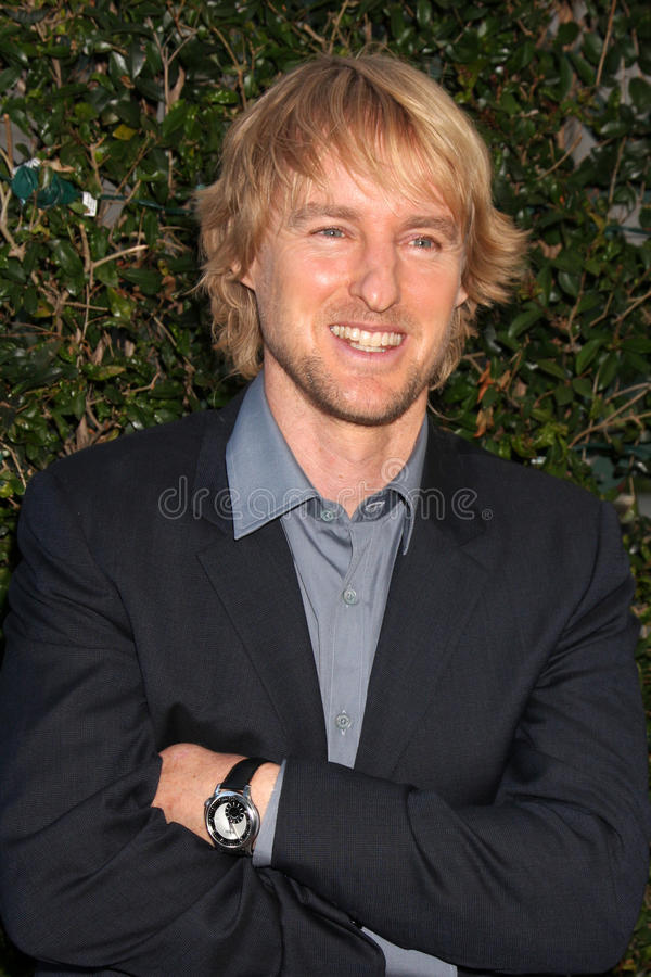 Samuel Goldwyn, Owen Wilson fotos de stock