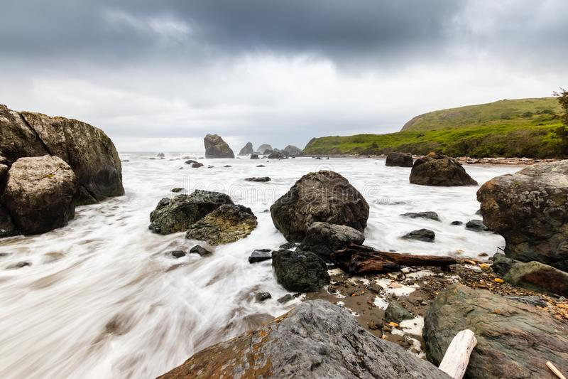 Samuel H. Boardman State Park, Oregon, West Coast, États-Unis d'Amérique, Travel USA, plein air, aventure, paysage, forêt tropica photographie stock libre de droits