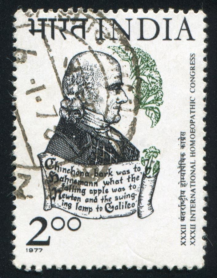 Samuel Hahnemann imagens de stock royalty free
