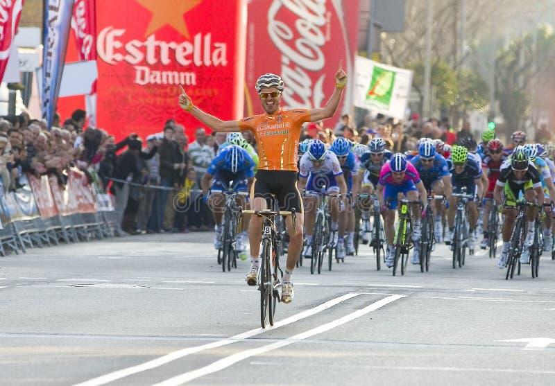 Download Samuel Sanchez Wins The Race Editorial Stock Photo - Image: 27405653