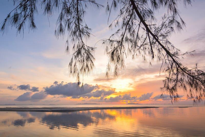 Samui ηλιοβασιλέματος στοκ φωτογραφία