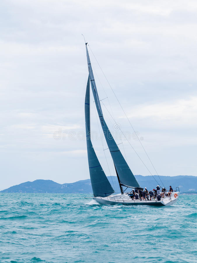 SAMUI REGATTA 2015, THAILAND - MAY 26 : Event at Chaweng beach , stock photography