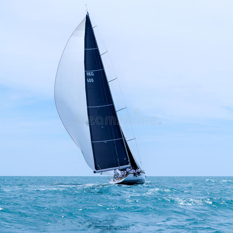 SAMUI REGATTA 2015, THAILAND - MAY 23rd-30th : Event at Chaweng stock photography
