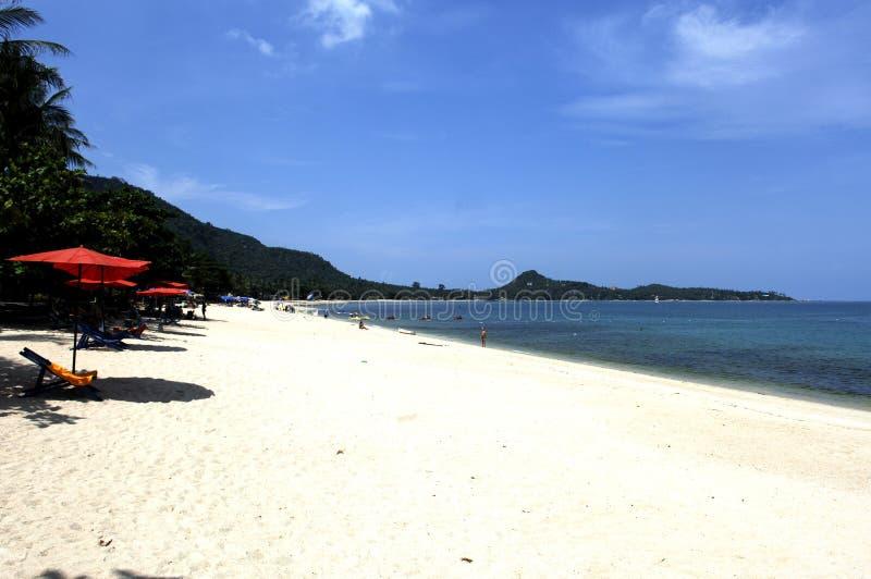 samui thailand för lamai för strandökoh royaltyfri foto