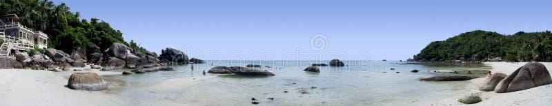 samui thailand för semesterort för strandkohpanorama royaltyfri fotografi