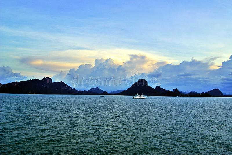 Samui wyspy port zdjęcie stock