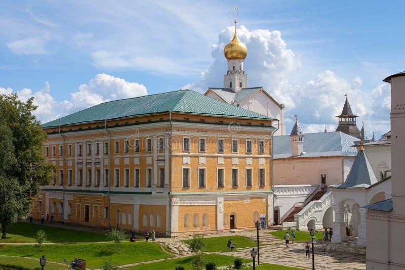 Samuilov kropp av den Rostov Kreml arkivbilder
