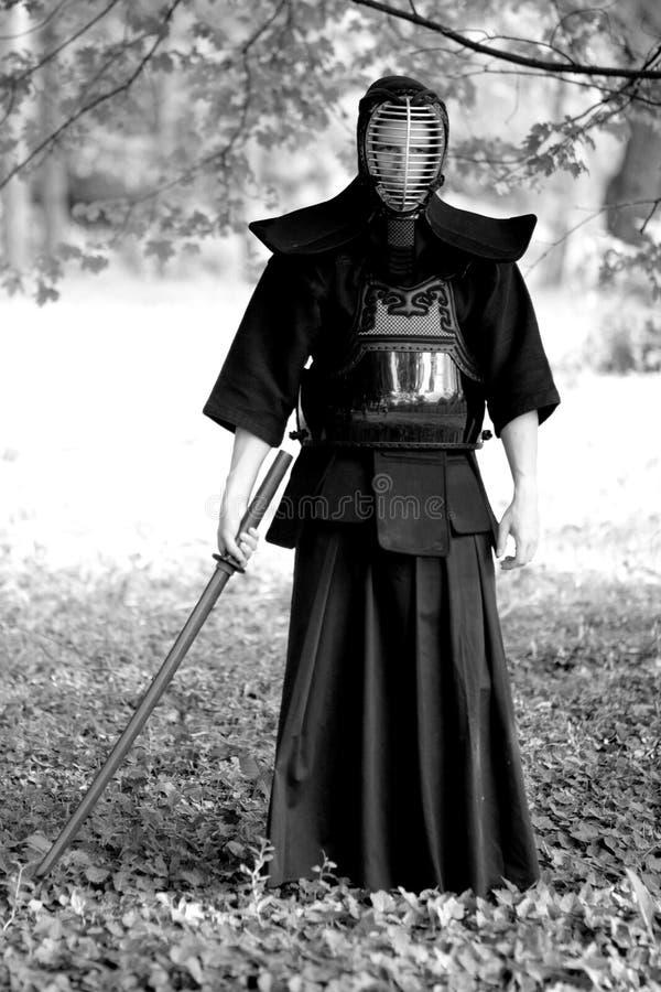 samurai arkivbilder