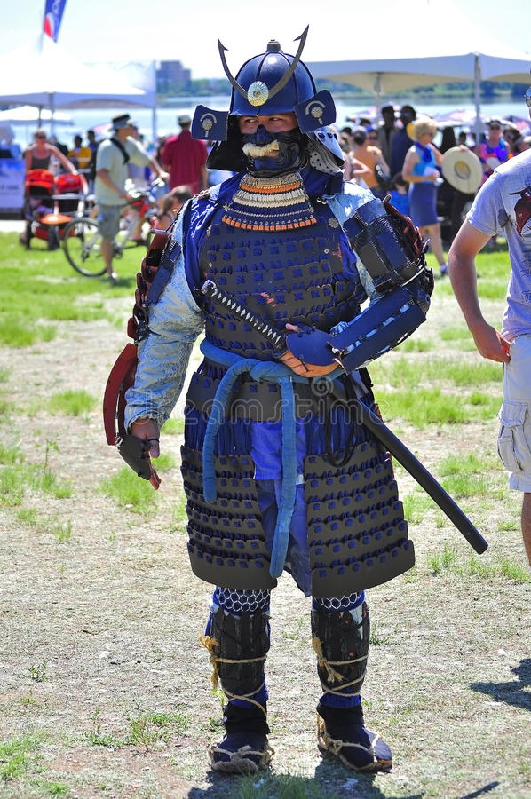Download Samurai editorial photo. Image of japan, shield, impersonator - 20766236