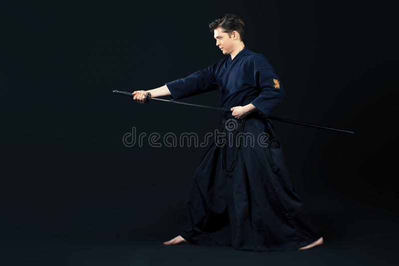 Samurai foto de archivo libre de regalías