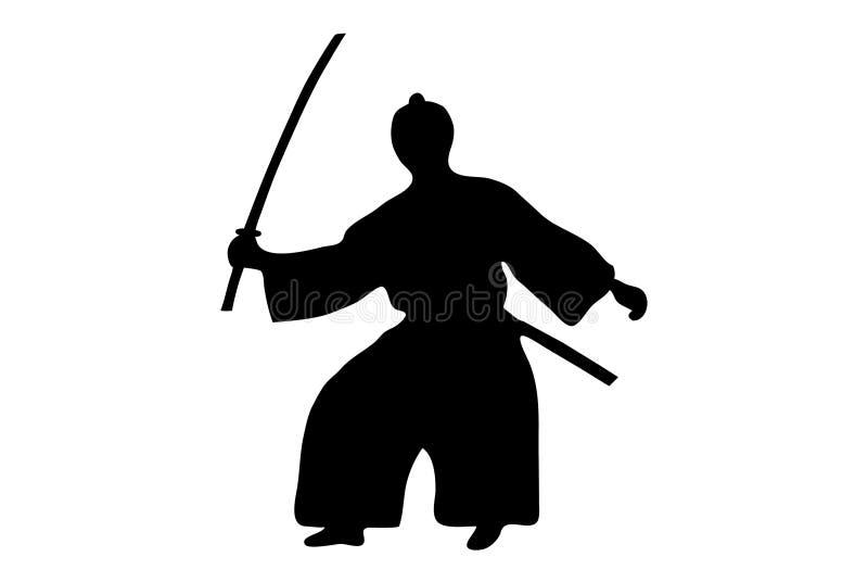 samurai stock illustrationer