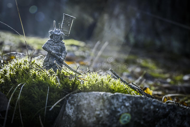 samurai royalty-vrije stock afbeeldingen