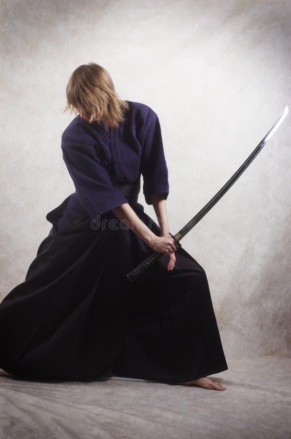 samurai arkivfoton