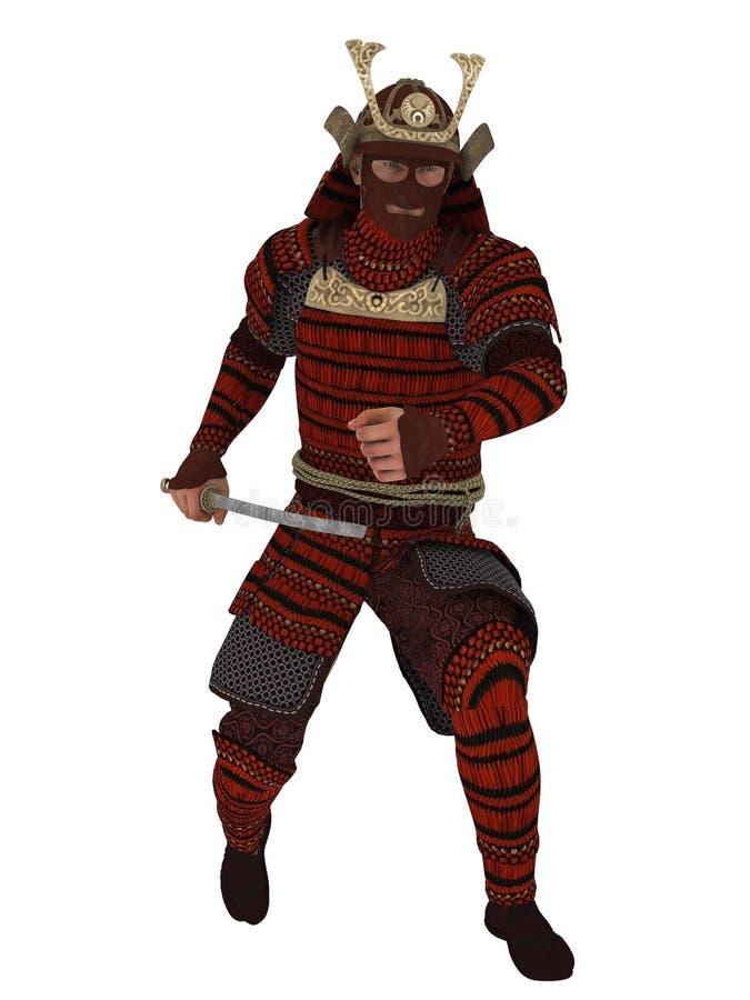 Download Samurai ilustração stock. Ilustração de espada, proteção - 80100924