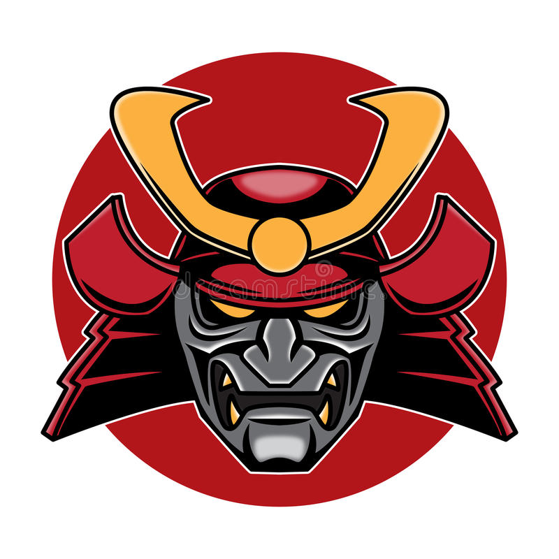 samurai head logo illustration stock illustration illustration of rh dreamstime com samurai logistics nd samurai lagoon utah