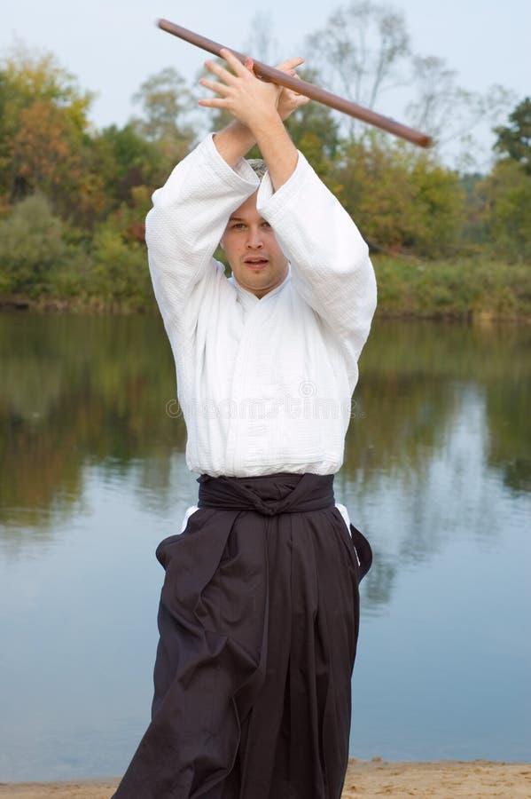 samuraja. fotografia stock