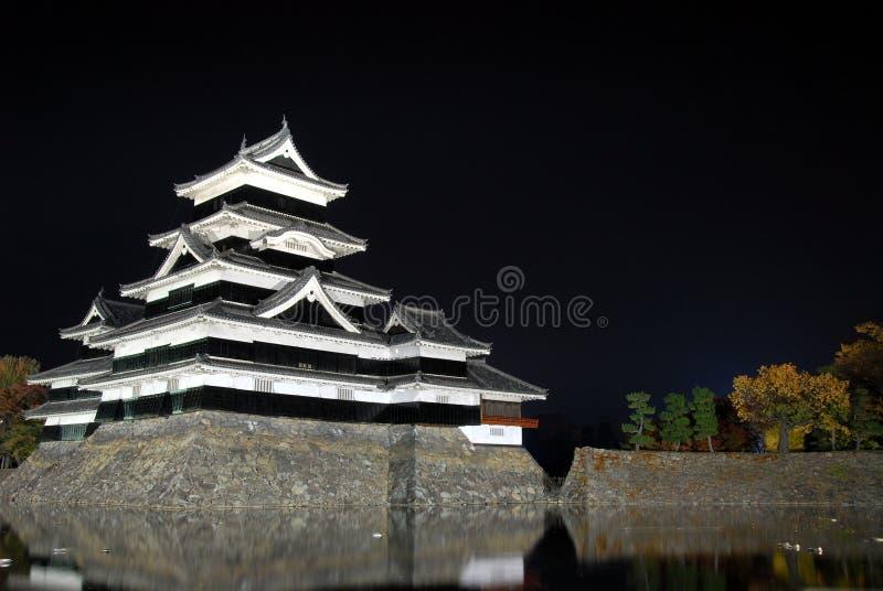 Samuraja kasztel obrazy royalty free