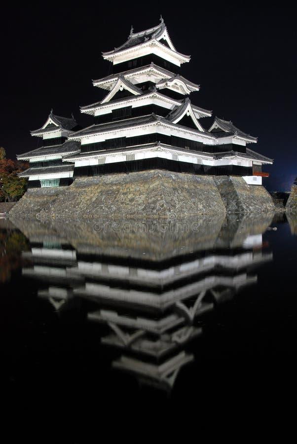 Samuraja kasztel fotografia stock
