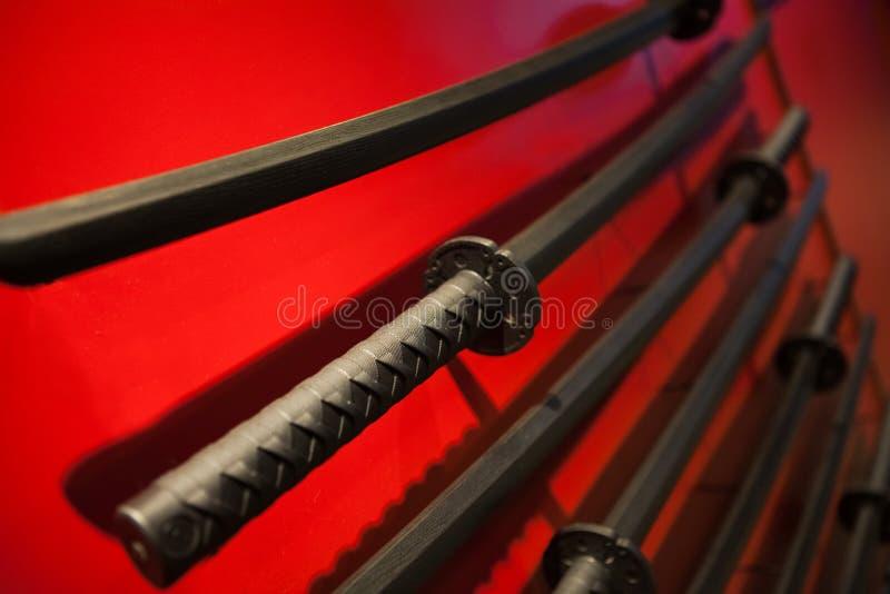 Samuraja kordzik fotografia stock