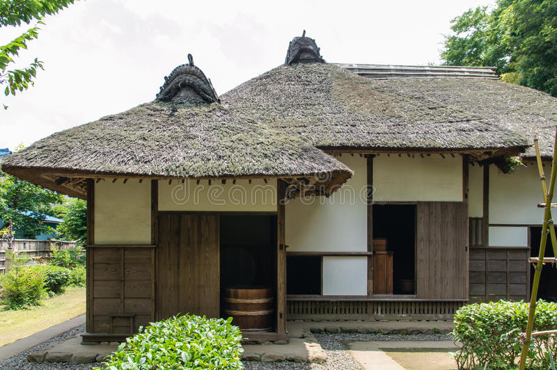 Samurajhus arkivfoton