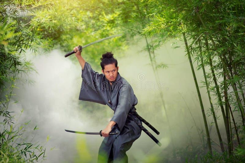 samurajowie obraz royalty free