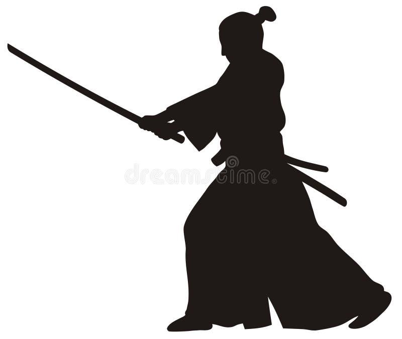 samurajowie ilustracja wektor