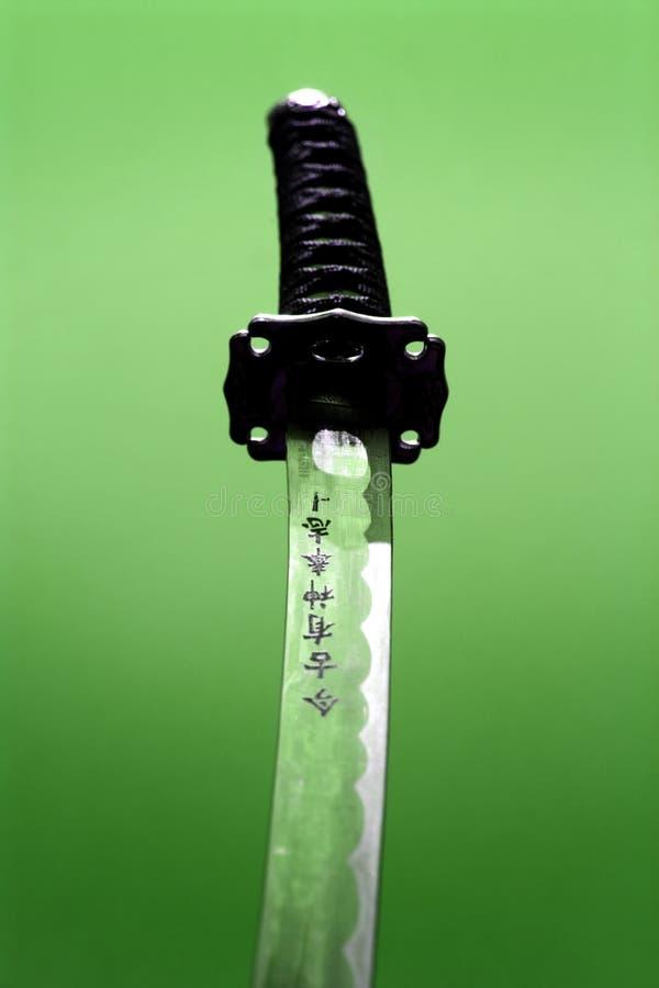 samurajski miecz obrazy stock