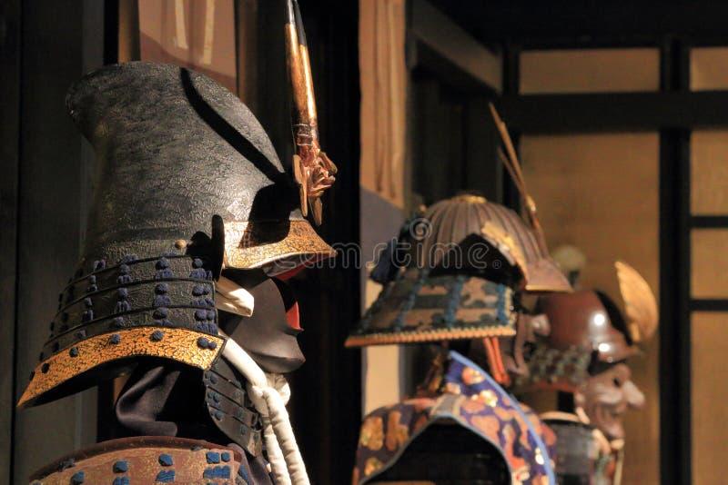 Samurajtema arkivfoto