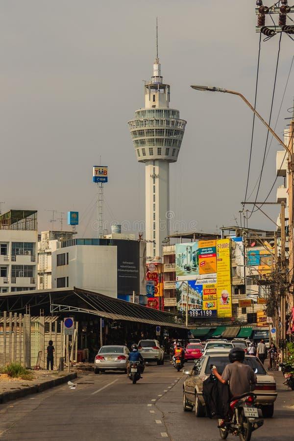 Samut Prakan, Tailandia - 25 marzo 2017: Observati di Samut Prakarn immagine stock libera da diritti