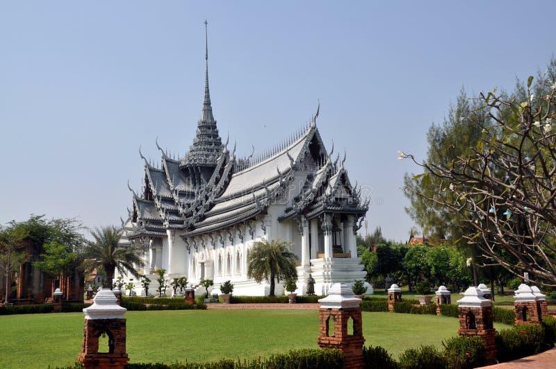 Samut Prakan, Thailand: De Zaal van het Publiek van Buri van Thon stock foto's