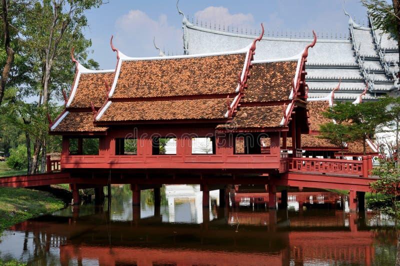 Download Samut Prakan, Thailand: Thai Covered Bridge Stock Photo - Image: 12931950