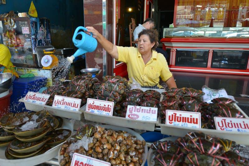 Samut Sakhon,泰国 免版税图库摄影