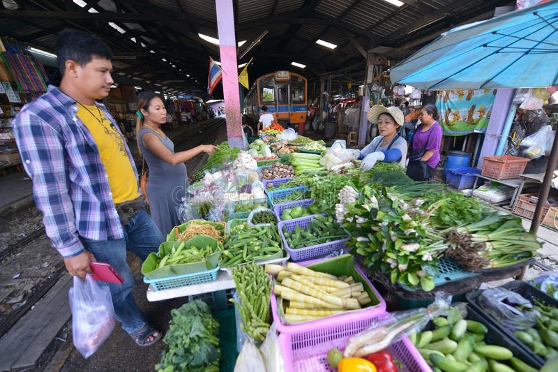 Samut Sakhon, Tailandia immagini stock