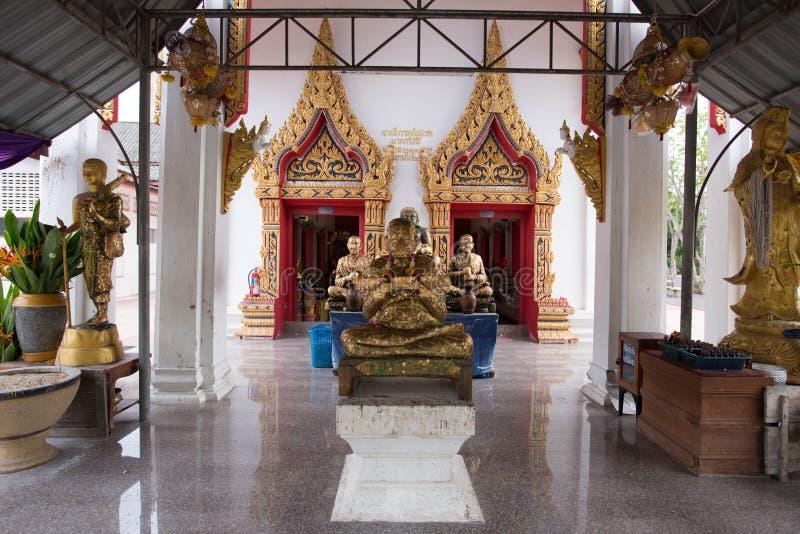 Samut Songkhram,Thailand - June 11 , 2016: People in thai temple. For editorial use only. Samut Songkhram,Thailand - June 11 , 2016:A lot of people in thai stock images