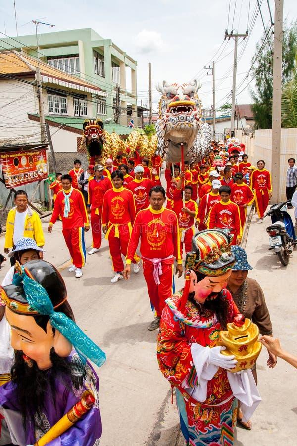 Download SAMUTSAKHON-THAILAND, LE 11 MAI 2008 : Dragon D'or Et Faire De Lion Photo stock éditorial - Image du pelucheux, chanceux: 56478993