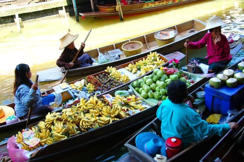 SAMUTSONGKRAM, TAILÂNDIA imagem de stock