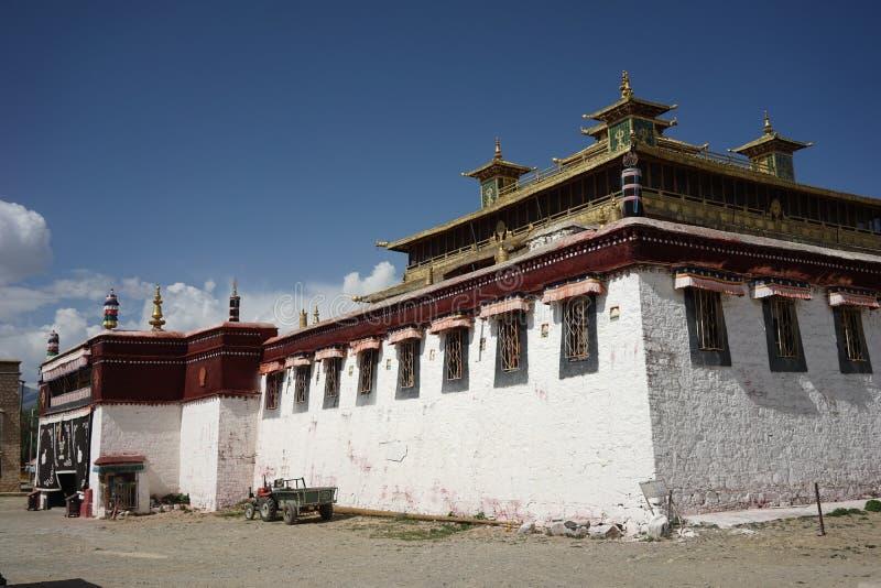 Samye Gompa nel Tibet immagine stock